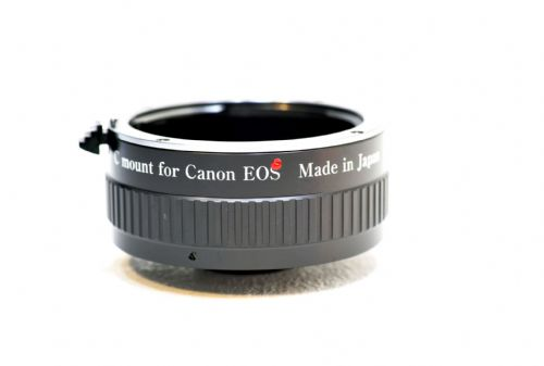C mount to Canon EOS  Lens adapter